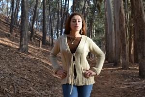 chaleca amarras lana