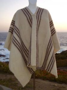 poncho 100 lana de oveja 2