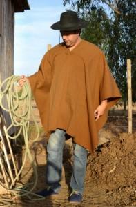 poncho alpaca